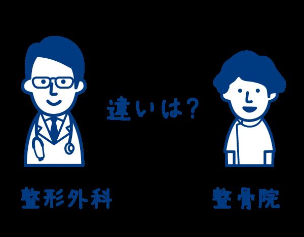 整骨院と整形外科の違い